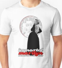 Immortal Marilyn Memorial Week 2017 with Logo Unisex T-Shirt