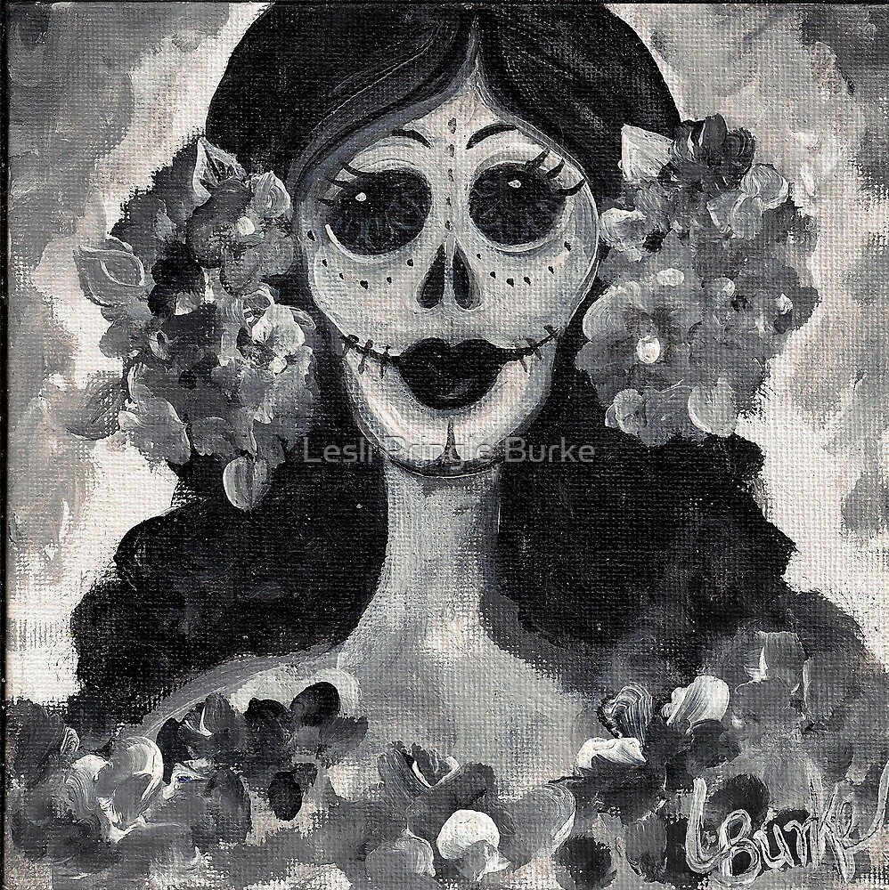 Day of the Dead Lady by Studio Burke
