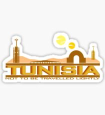 Tunisia Traveller Sticker