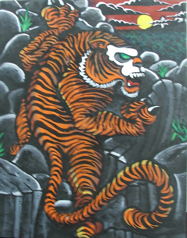 tiger by Harding