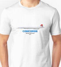 """Concorde - British Airways """"Classic"""" Unisex T-Shirt"""