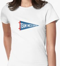 Team McCord Womens Fitted T-Shirt