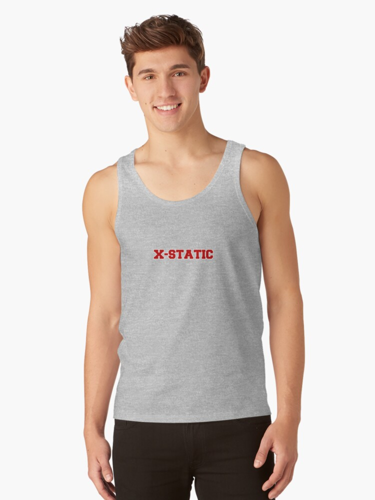 X - STATIC Tank Top Front