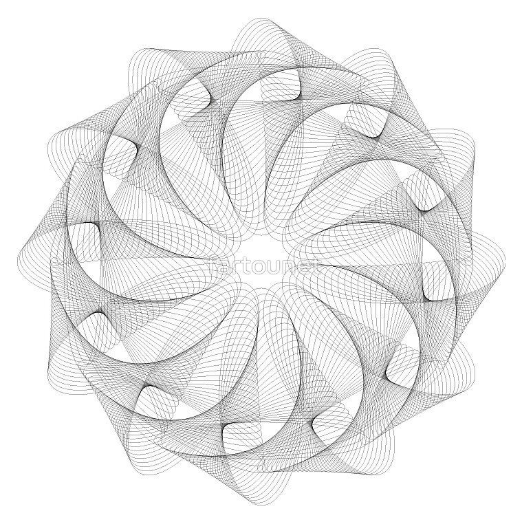 Graphic flower (v2) by fartounet