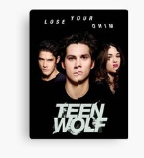TEEN WOLF Canvas Print