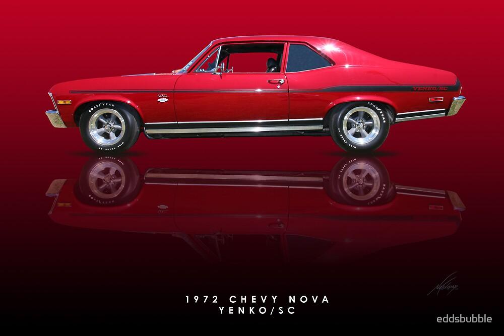 "Cars For Under 1000 >> ""1972 Chevy Nova, Yenko SC"" by eddsbubble | Redbubble"