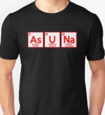 Asuna Periodic Table Parody Anime Shirt Unisex T-Shirt