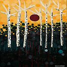 :: Red Moon Love Song :: by Gale Storm Artworks