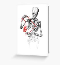 I need a heart to feel complete Greeting Card