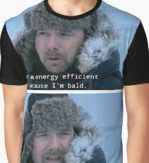 No Context Karl Pilkington - Karl is energy efficient Graphic T-Shirt