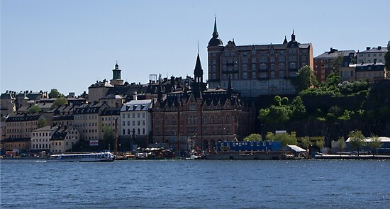 Stockholm by Water by Michael Anderson