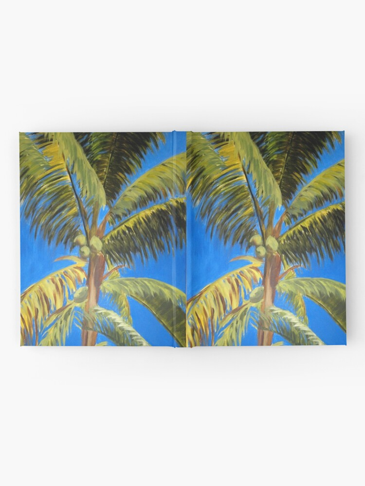 Alternate view of Palm tree Hardcover Journal