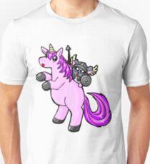 Chinchilla auf Einhorn Unisex T-Shirt