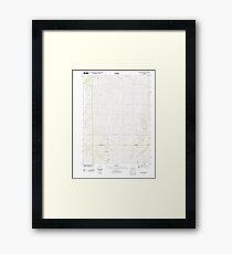 USGS TOPO Maps Iowa IA Red Oak South 20130410 TM Framed Print