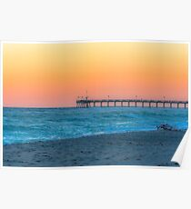 Surfside Afterglow Poster