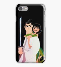 Samurai Jack and Ashi  iPhone Case/Skin