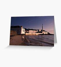 Islay: Bowmore Distillery Greeting Card