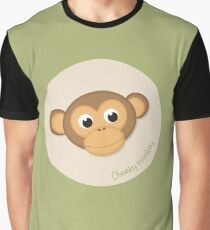 Cheeky Monkey Graphic T-Shirt