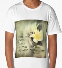 Insirational Matisse Quote Long T-Shirt