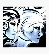 art deco sci fi ,Jacqueline Mcculloch Photographic Print