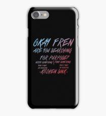 Kitchen Sink Riot Print (Twenty One Pilots) iPhone Case/Skin