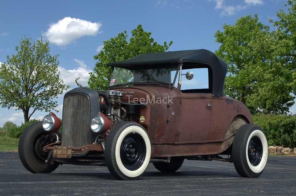 1930 Ford Roadster Rat Rod by TeeMack