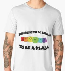 Playa' Gotta Roll! (rainbow) Men's Premium T-Shirt