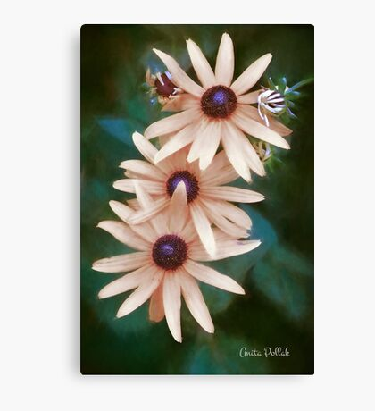 Who Says We Have to Be Yellow? Canvas Print