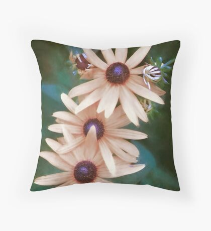 Who Says We Have to Be Yellow? Throw Pillow