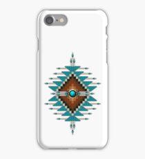 Native American Sunburst 025 iPhone Case/Skin