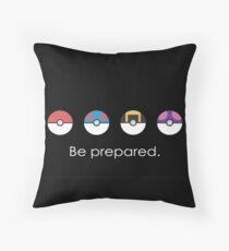 Pokémon - Pokéball Throw Pillow