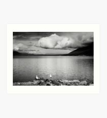 Kluane Lake Art Print