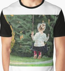 Girl playing outside Graphic T-Shirt