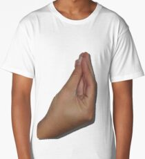 Italian Meme Hand Long T-Shirt