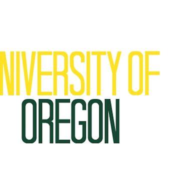 University of Oregon by racheld31