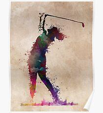Golf player 2 #sport #golf Poster