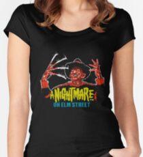 Freddy-8bit Women's Fitted Scoop T-Shirt