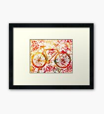 Bicycles For All Seasons Fall Framed Print