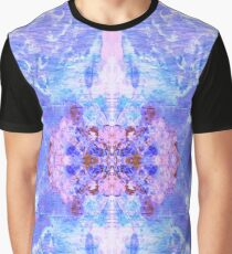 Marble Vortex Mushroom Cloud Texture Graphic T-Shirt