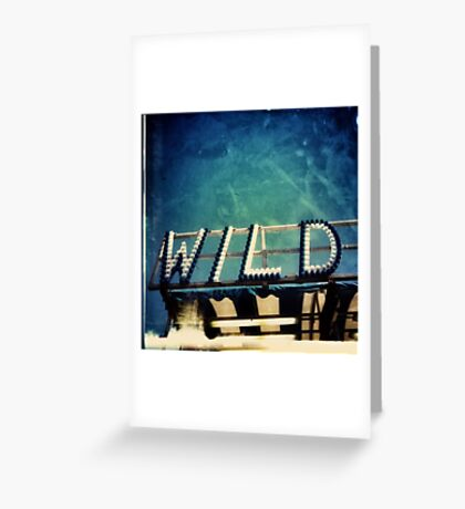 Wild Lights Greeting Card