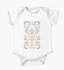 god save the queen bee Kids Clothes