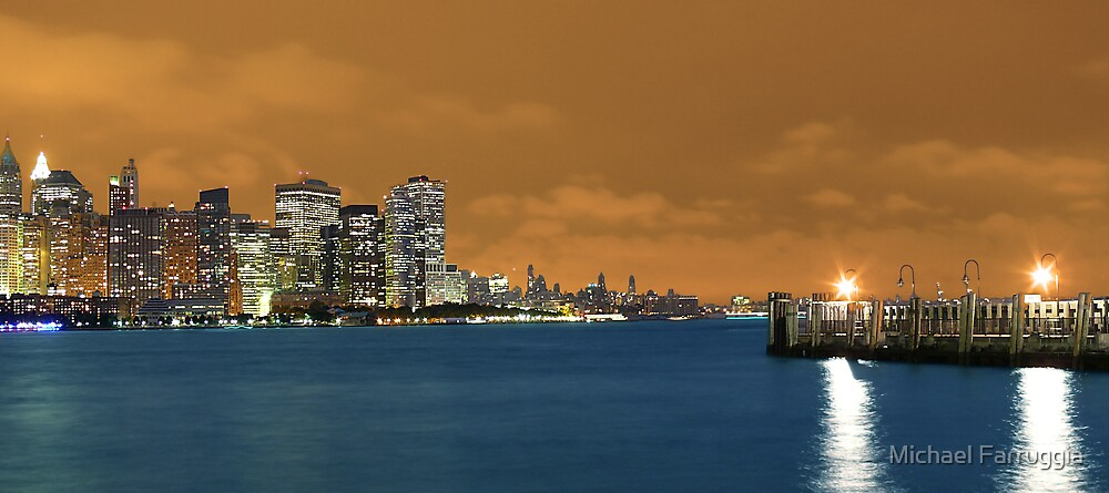 Copper toned NYC by Michael Farruggia