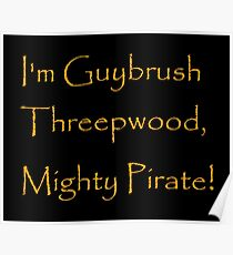 I'm Guybrush Threepwood, Mighty Pirate! Poster