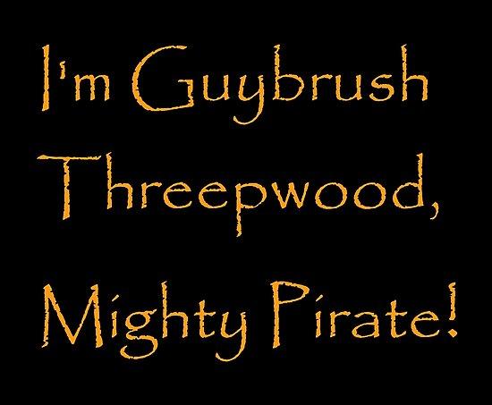 I'm Guybrush Threepwood, Mighty Pirate! by Corpsecutter