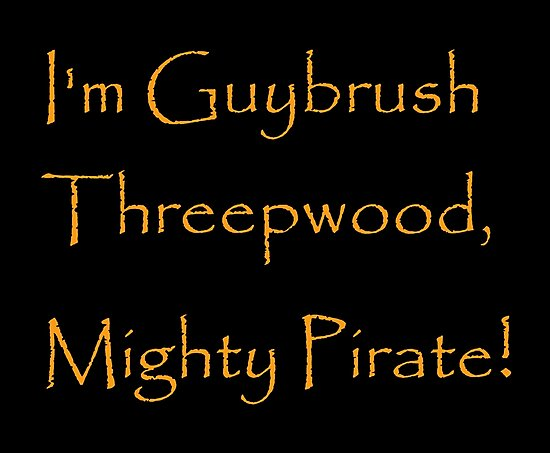I'm Guybrush Threepwood, Mighty Pirate! by Corpsecutter