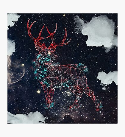 Celestial Deer Photographic Print