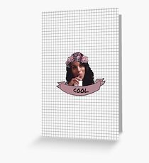 Olivia Pope - Flower Crown Greeting Card