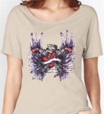 Heart Guns Shirt Women's Relaxed Fit T-Shirt