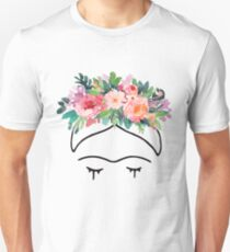 Frida Kahlo Flowers T-Shirt