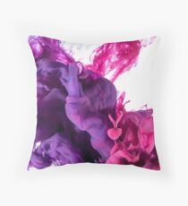 Hi Lovely Lila Pink Throw Pillow